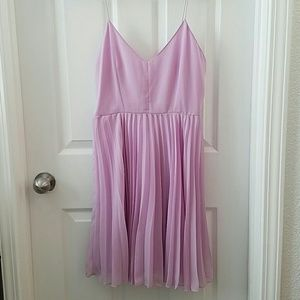 Asos purple/pink dress